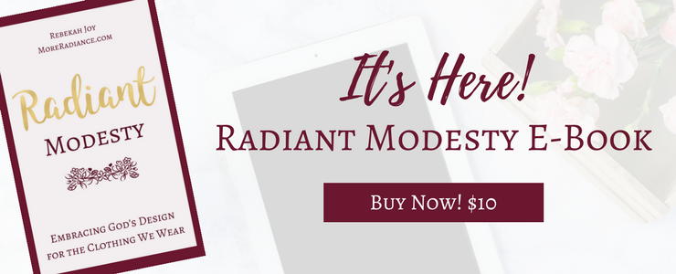 The Radiant Modesty E-Book - Buy Now!