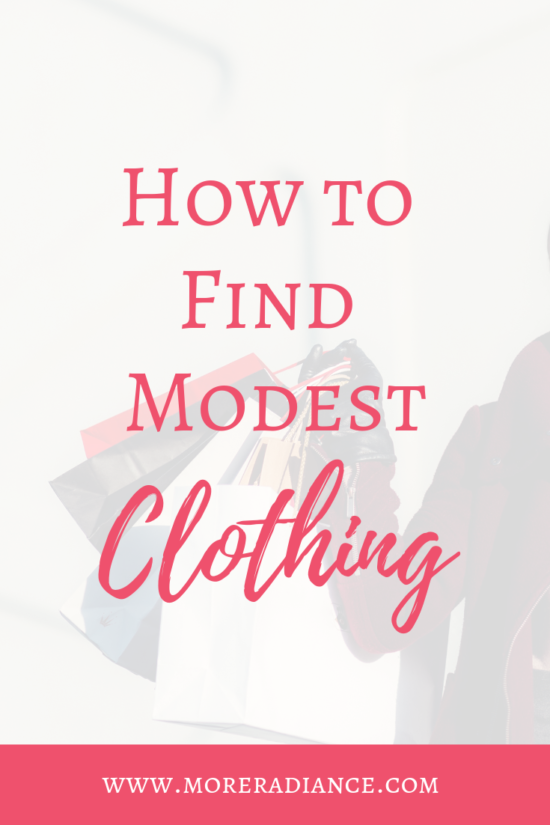 How to Find Modest Clothing: 5 Tips to help you find modest clothing the next time you go shopping!